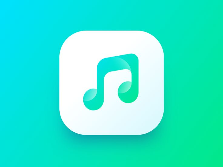 Music app icon by Stano Bagin