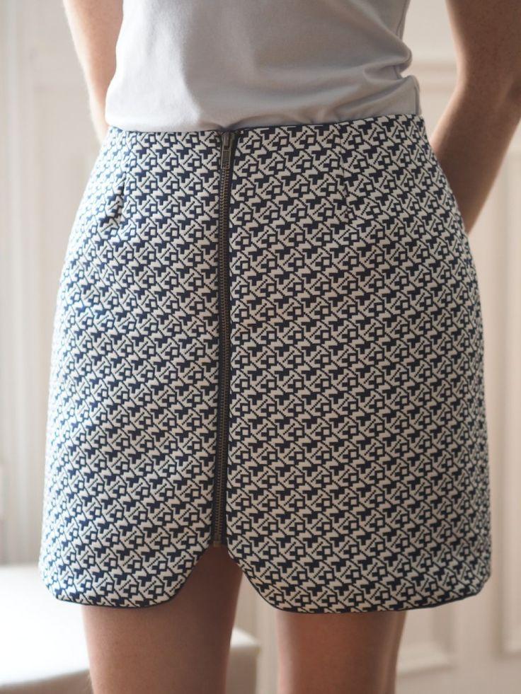 Couture : la jupe sister mini de Vanessa Pouzet - Like A Bobo #couture #jupe