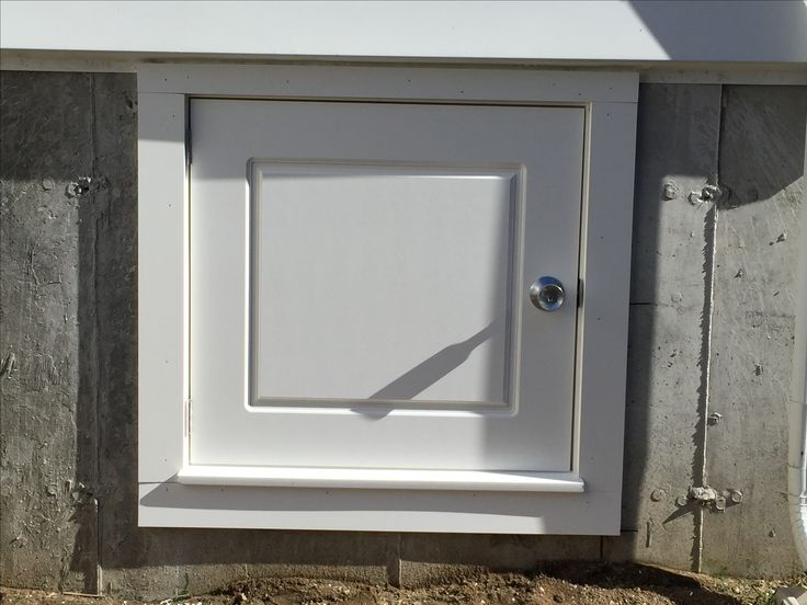 Exterior crawl space access door for Exterior basement access doors