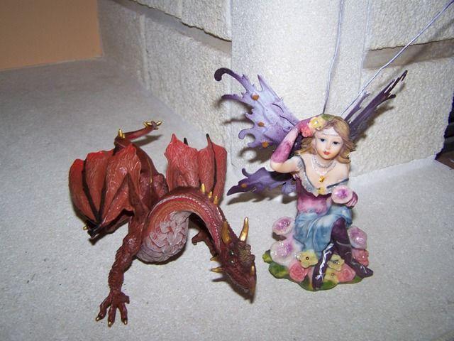Dragón y Hada en el Centro de Educación Infantil Hadas y Duendes