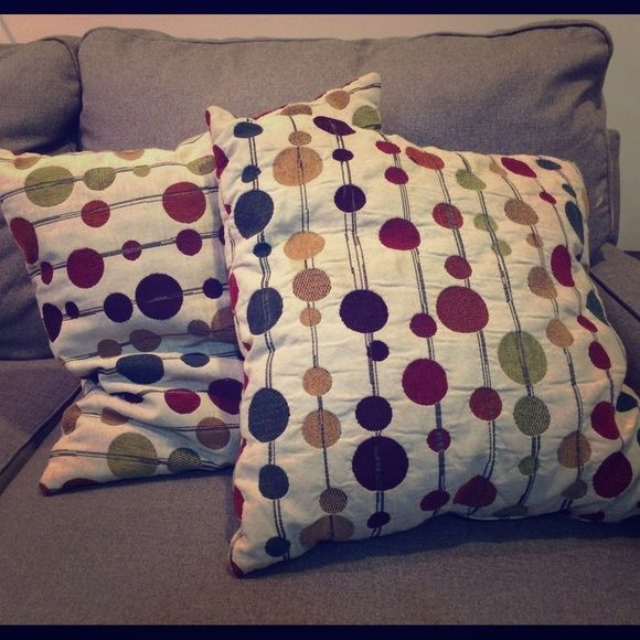 Bed bath and beyond decorative throw pillows (2) Two adorable throw pillows! Bed Bath & Beyond Other