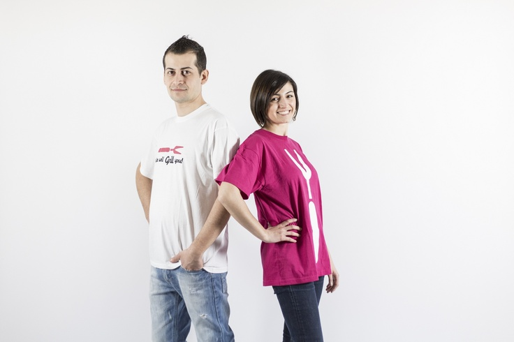 Rosa and Antonio are ready to grill !! www.wegrill.eu