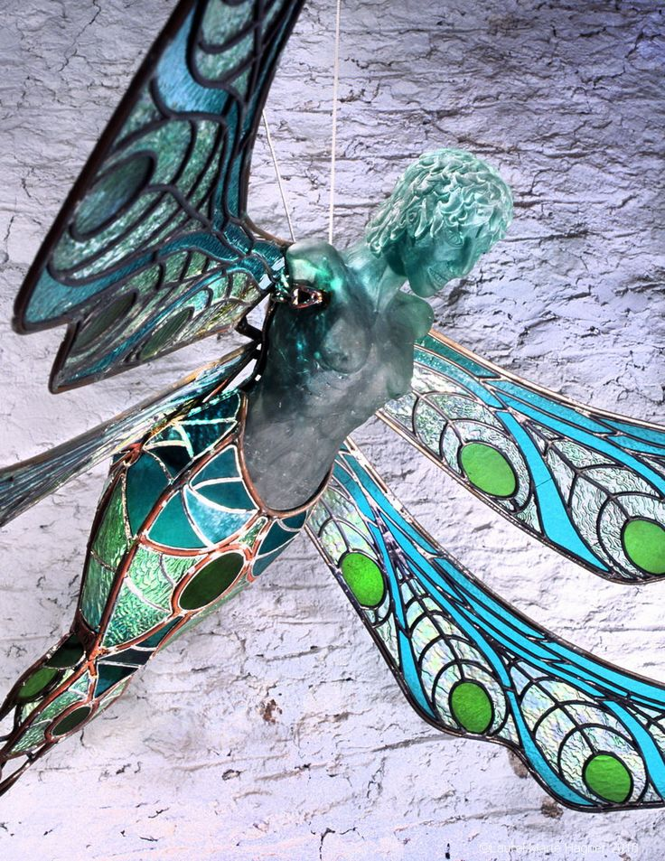 Tiama in Flight - Laurel Marie Hagner's Sacred Art Greeting Cards by Glassometry on Etsy