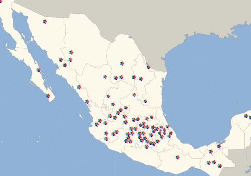 La lista de los Pueblos Mágicos de México