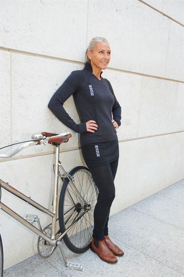 Grey Fox Road Rags Merino Bike Wear Made In England Goin