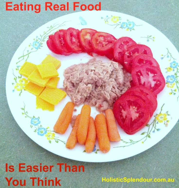 Eating real food is easier than you think. Fresh fruits and vegetables are a great substitute for junk food.   Herbal teas are great in place of soda.   Whole grain bread easily replace over processed white bread.   You might be surprised how easy it is to eat healthier if you make a few simple changes.