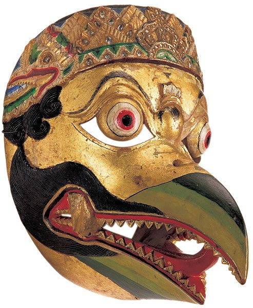 Indonesian Masks   Year 8 - Performing Arts - LRC at Lowther Hall Anglican Grammar School