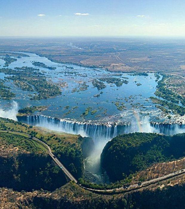 11. Chutes Victoria, Zambie