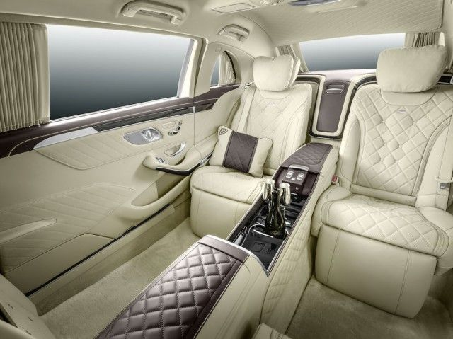 For The Distinguished Gentlemen.  Mercedes-Maybach Pullman