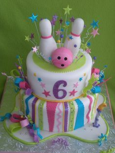 Image result for ten pin bowling cake ideas