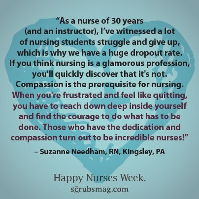 Don't give up... Nurses
