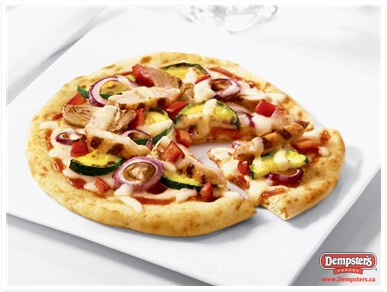 Barbecue-Style Chicken Pita Pizza from www.Dempsters.ca