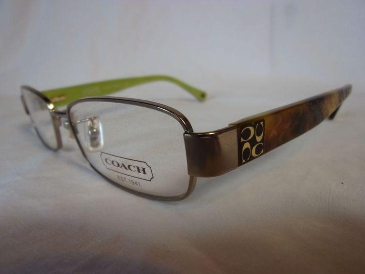 Coach Eyeglass Frames Hc5001 : Coach glasses frame taryn hc5001 9020 taupe 48-16-135 ...