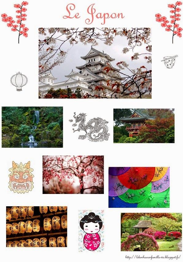 Le bonheur en famille: Géographie, le Japon...