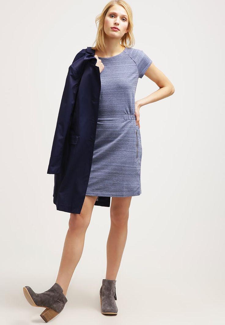 ¡Cómpralo ya!. GAP Vestido ligero navy space dye. GAP Vestido ligero navy space dye Ofertas   | Material exterior: 95% algodón, 5% elastano | Ofertas  , vestidoinformal, casual, informales, informal, day, kleidcasual, vestidoinformal, robeinformelle, vestitoinformale, día. Vestido informal  de mujer color azul marino de Gap.