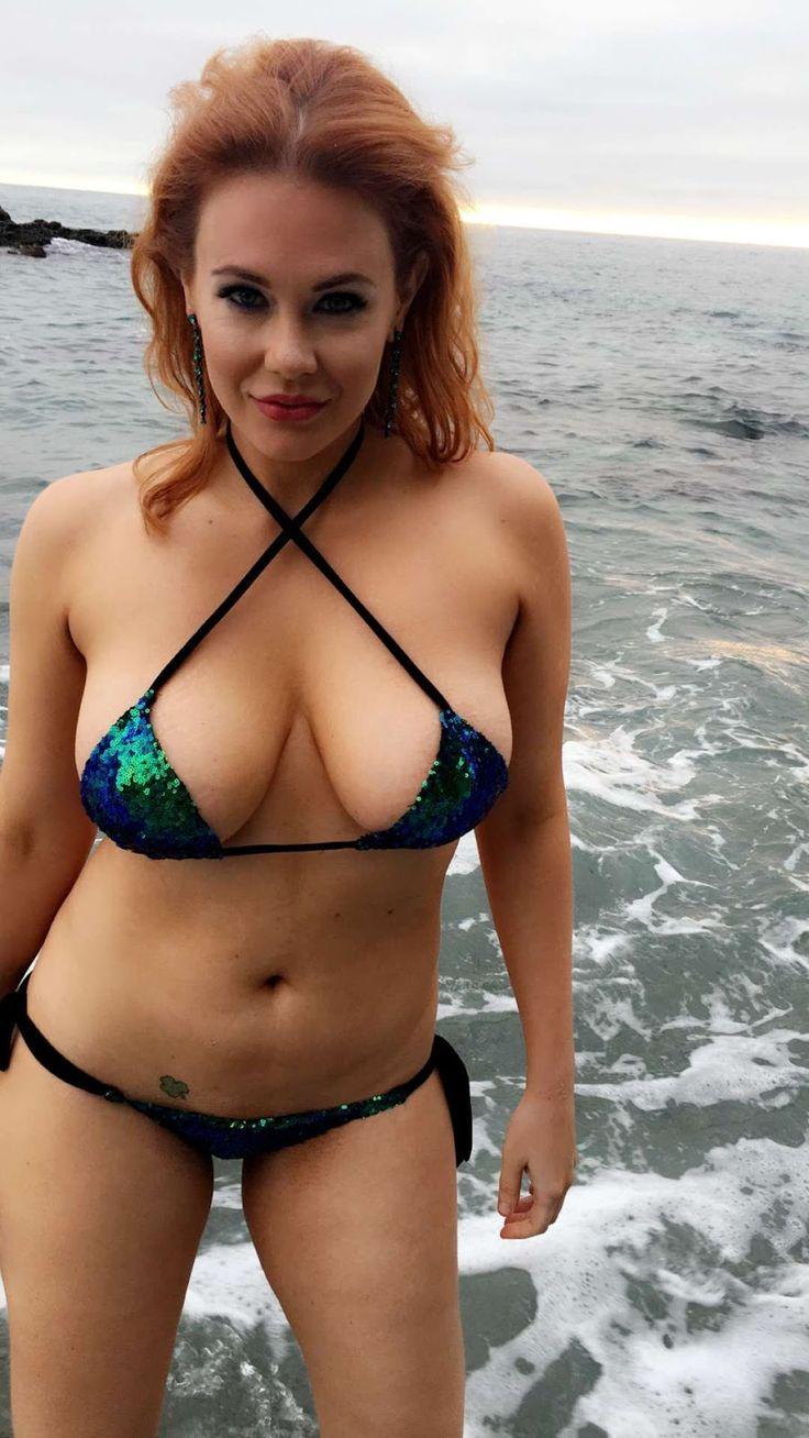 Maitland Ward Bikinis For Large Chested Women