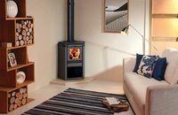 corner wood stove   30 Wood Burning & Multi-Fuel Stoves - Channel4 - 4Homes