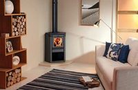corner wood stove | 30 Wood Burning & Multi-Fuel Stoves - Channel4 - 4Homes