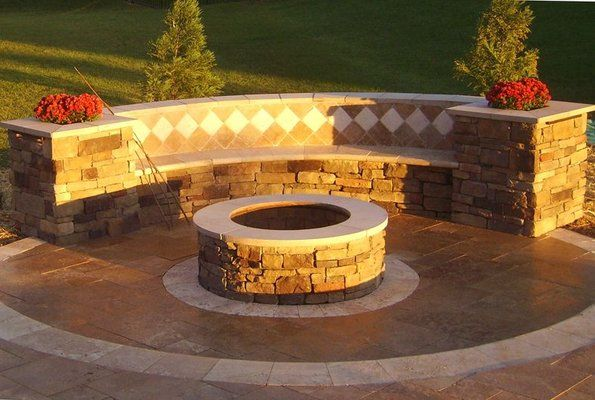 1000 ideas about curved outdoor benches on pinterest tree bench garden benches and vertical Fire pit benches