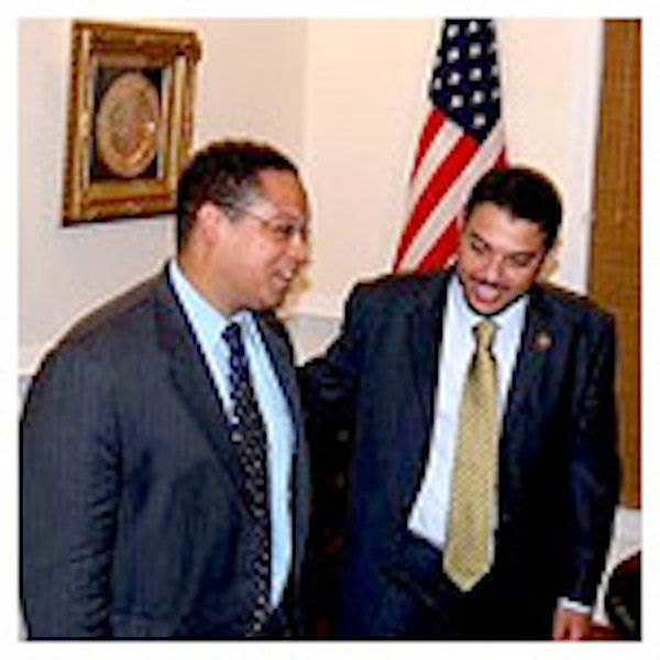 """KEITH ELLISON, front-runner for head of the Nat. Dem. Convention, HEADLINED FUNDRAISER FOR MUSLIM ACTIVIST WHO CALLED FOR PALESTINIANS TO EMBRACE """"THE JIHAD WAY"""". Tim Kaine put  ESAM OMEISH on an IMMIGRATION panel from which he was forced to resign because of his statements. Ellison also has strong ties to Louis Farrakhan and the racist Nation of Islam. For more on Omeish, see http://www.investigativeproject.org/documents/misc/711.pdf"""