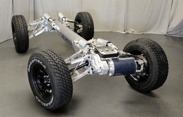 Trexa Prefab AWD Electric Car Chassis - DIY Electric Car ...