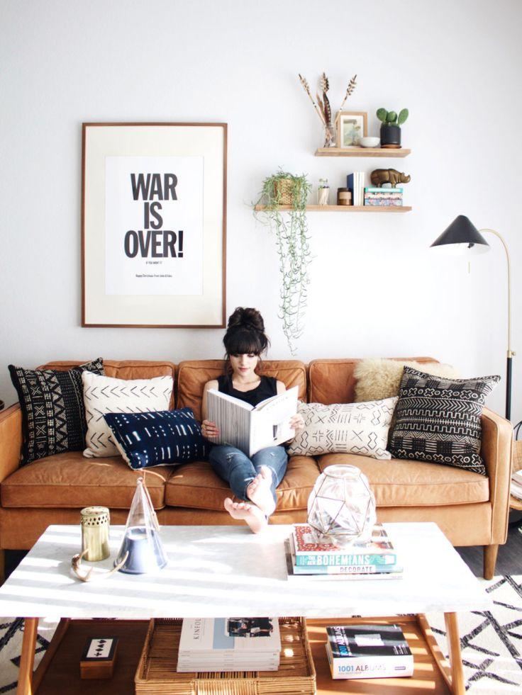 Thuis in het huis van een bloggersduo