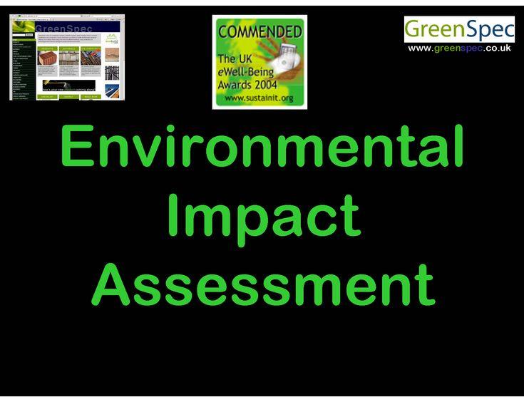 Environmental Impact Assessment EIA (Lecture) G#402 N#403