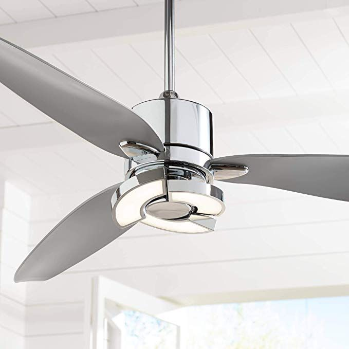 56 Vengeance Modern Ceiling Fan With Light Led Remote Control
