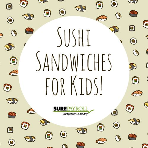 Are you stuck in a rut with the same old boring lunches?  Make some fun (cooked) sushi sandwiches! http://weelicious.com/2014/03/04/how-to-make-sushi-sandwiches-video/