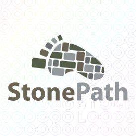 Exclusive Customizable Logo For Sale: Stone Path | StockLogos.com
