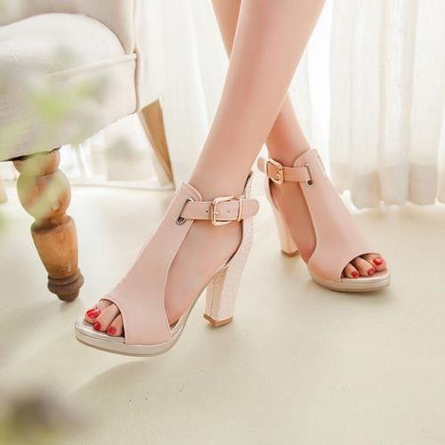 2015 горячей моды летние сандалии сексуальная peep toe женщин высокие каблуки туфли на платформе женщина насосы свадебные туфли сандалии для женщины купить на AliExpress