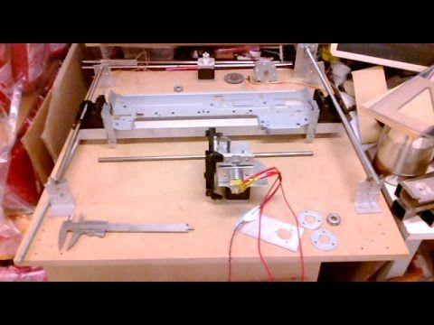 Impresora 3D Casera, con partes recicladas, 1ra parte - YouTube