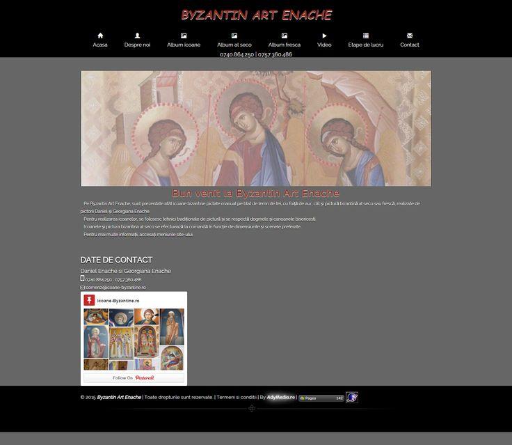 Icoane bizantine, Pictura bisericeasca, Pictura Al-Seco, Pictura Fresca   Byzantin Art Enache