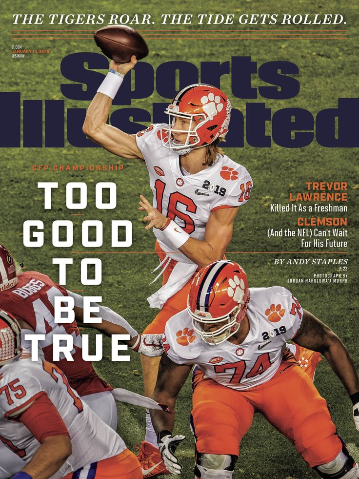 Sports Illustrated 16 Issues Clemson, Clemson football