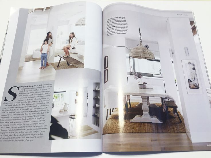 One of our recently completed houses near Bondi Beach has been published in the August 2016 Inside Out Magazine edition