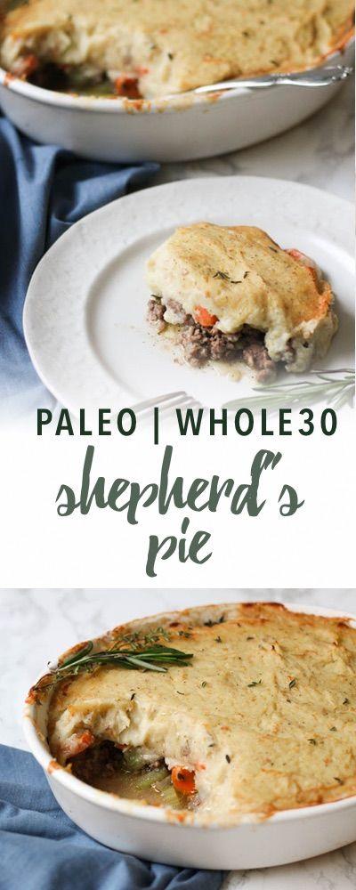 Paleo shepherd's pie recipe | Empowered Sustenance