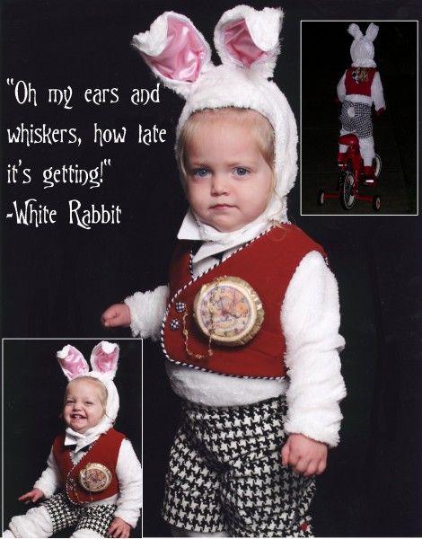 Alice in wonderland - white rabbit costume