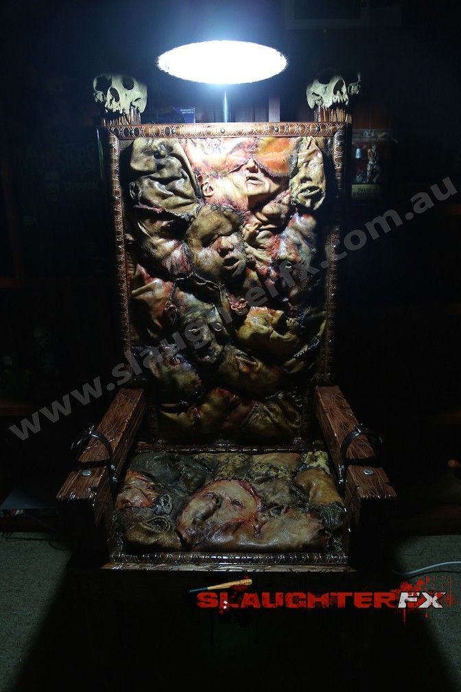 Ed Gein Inspired Electric Chair Made By Slaughter Fx