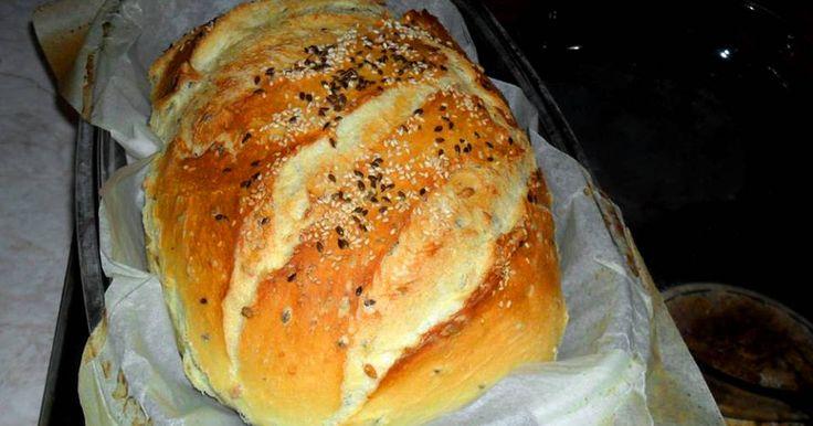 Mennyei Erdélyi krumplis-magvas kenyér recept! Mikor Erdélyben jártunk, ott ettem életem legfinomabb kenyerét. Azóta csak ezt sütöm.