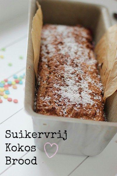 Suikervrij Kokosbrood