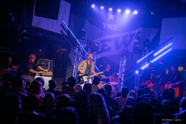 We catch The Trews live in Edmonton at Union Hall on November 20, 2014. If I were going to draw..
