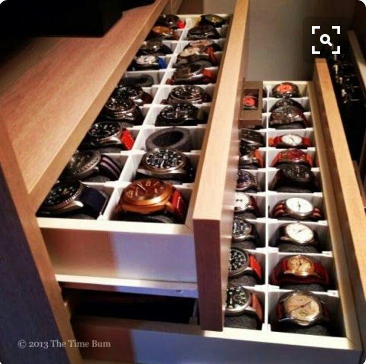 25 best ideas about watch organizer on pinterest closet. Black Bedroom Furniture Sets. Home Design Ideas
