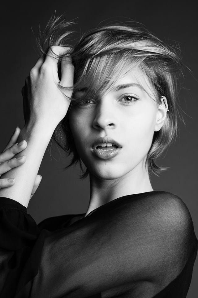 Bluzka RINA COSSACK  VITA for Elite Model Management Milano fot.Monika Motor