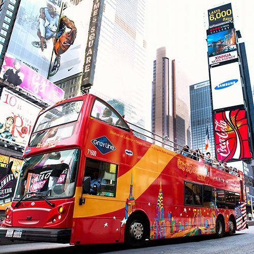Hop On Hop Off New York Bus Tour