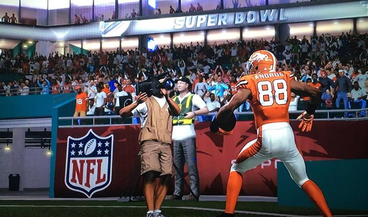 Bryan Pray Madden '17 Denver Broncos Super Bowl winner in Fantasy Madden 281 league Season 7