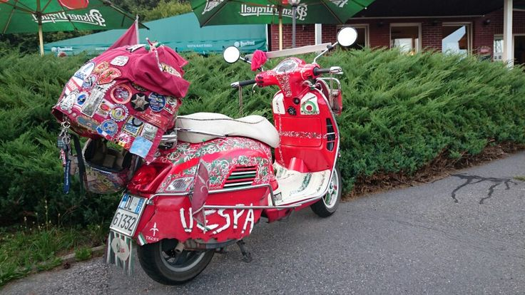 Vespa from Trieste