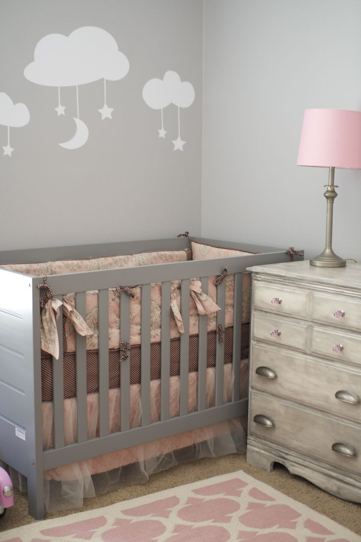 25 Unique Pink Gray Nurseries Ideas On Pinterest Baby