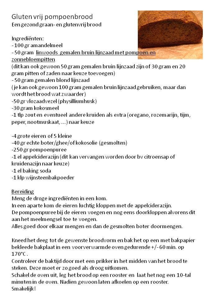 graan- en glutenvrij pompoenbrood - Grain and gluten free pumpkinbread