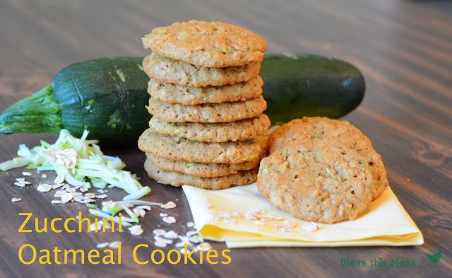 Oatmeal Zucchini Cookies Recipe. These were awesome!