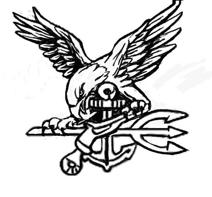 11 best navy seal logo images on pinterest us navy seals navy images for navy seal logo sciox Choice Image